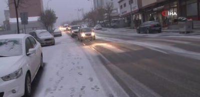 İstanbul kar yağışı başladı