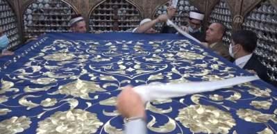 İstanbul'da işlendi, Abdulkadir Geylani Türbesi'ne hediye edildi