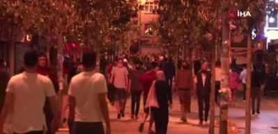 İstanbul'da kısıtlamanın sona ermesiyle vatandaşlar sokağa çıktı