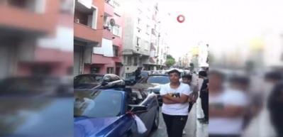 İstanbul'da silahlı, çakarlı ve kuralsız düğün konvoyu terörü kamerada