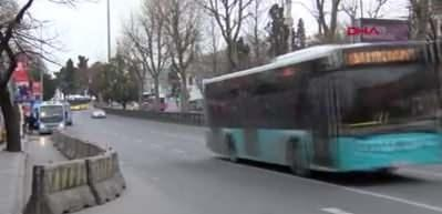 """İstanbul'da toplu taşımada """"seyrek oturma"""" düzeni"""