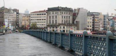 İstanbullular bu pazar sabahı 'evde kal'dılar