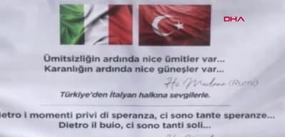 İtalyan çocuktan yardımlar sonrası Türkiye'ye duygulandıran mesaj