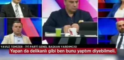 İYİ Parti'de deprem! Canlı yayında istifaya davet etti