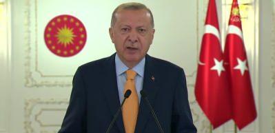 """Cumhurbaşkanı Erdoğan: """"Suriye güvenli ve gönüllü geri dönüşlerin temin edilmesi şarttır"""""""