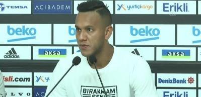 Josef de Souza, Beşiktaş'ta beklentileri karşılamak istiyor