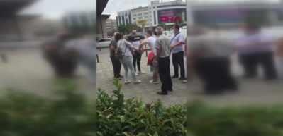 Kadıköy'de kadına laf atınca dayak yedi