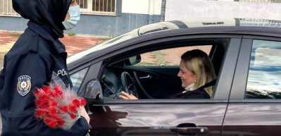 Kadın sürücülere sürpriz!
