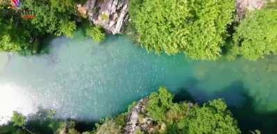 Kahramanmaraş'ın turkuaz renkli Kanlıbüvet Kanyonu