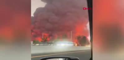 Kaliforniya'da Amazon şirketine ait depoda patlama