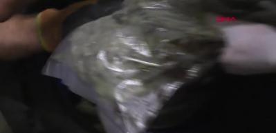 Kapıkule ve Hamzabeyli'de 4,5 milyon liralık uyuşturucu ele geçirildi