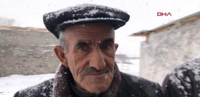 Burası Bodrum değil! Kar yağışını türküyle karşıladı