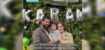 Karan Özçivit 2 yaşında!