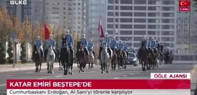 Katar Emiri Türkiye'de! Erdoğan karşıladı