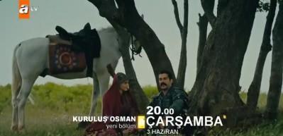 Kayı obasında Osman Bey ve Bala Hatun'un düğünü var! Kuruluş Osman 24. bölüm 1. fragmanı