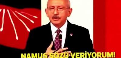 Kemal Kılıçdaroğlu namus sözü!