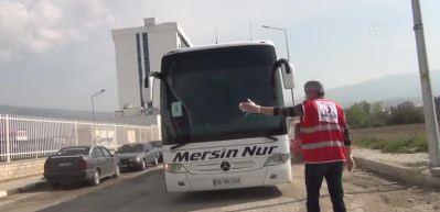 KKTC'den gelen vatandaşlar İskenderun'da yurtlara yerleştirildi