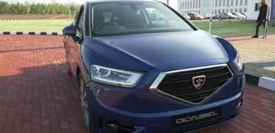 KKTC'nin yerli otomobili GÜNSEL'in test sürüşü başladı