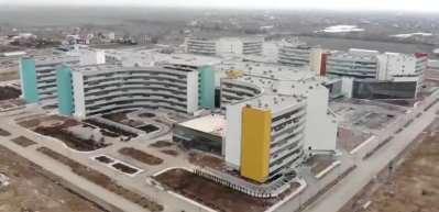 Konya Şehir Hastanesi'nde sona gelindi