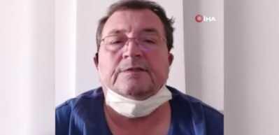 Koronavirüs hastası canlı yayında sevdiklerinden özür diledi