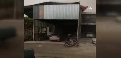 Kumluca'daki fırtınada 1 kişi hayatını kaybetti