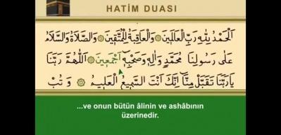 Kur'an-ı Kerim Hatim duası ve türkçe meali! Hatim duası okunuşu