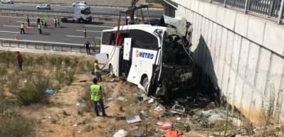 Kuzey Marmara Otoyolu'ndaki kazada rapor hazırlandı