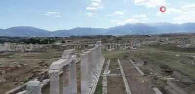 Laodikya Antik Kenti'nin gün yüzüne çıkarılması asırlar sürecek