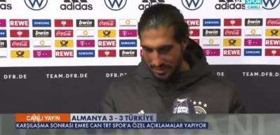 Löw'ün Türkçe, Emre Can'ın ise Almanca röportajı şaşırttı!