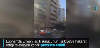 Lübnanlılar Osmanlı'ya hakareti affetmedi!