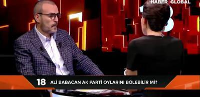 Mahir Ünal anket sonuçlarını açıkladı! AK Parti'den Babacan ve Davutoğlu'na oy gider mi?