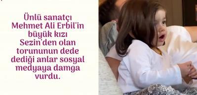 Mehmet Ali Erbil'i duygulandıran anlar! Torunu...