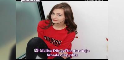 Melisa Döngel'e bıçaklı saldırı!