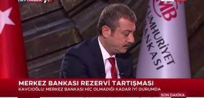 Merkez Bankası Başkanı Kavcıoğlu: 120 ton altın rezervimizi 720 tona çıkardık