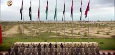 Mısır'da 6 Arap ülkesinden ortak askeri tatbikat