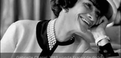 Modanın ikonu Coco Chanel lakaplı Gabrielle Bonheur kimdir?