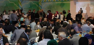 Moskova'da ramazan çadırı açıldı