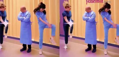 'Mucize Doktor' oyuncularından komik dans videosu!