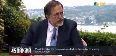 Murat Bardakçı: Atatürk'ün Samsun'a çıkışı Osmanlı Devleti'nin talimatıyla olmuştur!