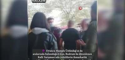 Mustafa Üstündağ'ın kavgasına ait görüntüler!