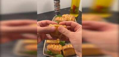 Nermin Yazılıtaş'tan çıtır çıtır kaşarlı milföy böreği tarifi