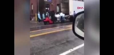 New York'ta koronavirüsten ölenler mobil morglara taşındı