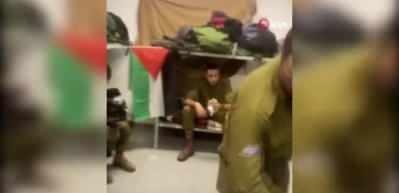 Odasına Filistin bayrağı asınca ordudan atıldı!