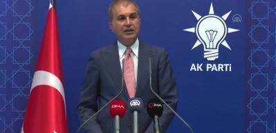 Ömer Çelik: 'Türkiye her zaman, her şart altında Azerbaycanlı kardeşlerinin yanında olacaktır