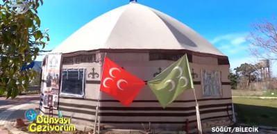 Osmanlı'nın kayı obasının otağını gezin