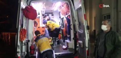 Otomobilin içinde pompalı tüfekle vurulan genç yaralandı