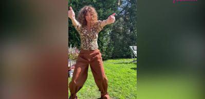 Oyuncu Seda Bakan'dan dikkat çeken Bollywood dansı!