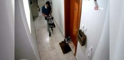 Pandemi korkusuyla kapıya bırakan ayakkabılara hırsız dadandı