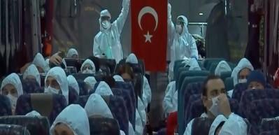 Pandemi sürecinde yardım isteyen vatandaşların Türkiye'ye getirilmesine ilişkin video serisi hazırlandı