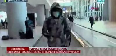 Papiss Cisse İstanbul'a geldi!